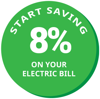 Start Saving 15% on your Electric Bill