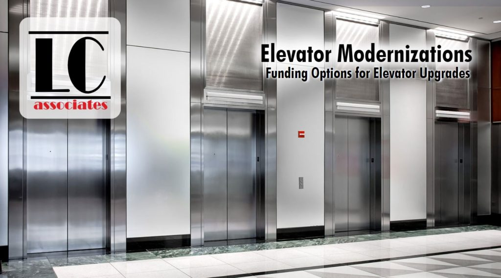 Learn how you can get funding for you elevator projects by clicking the image.
