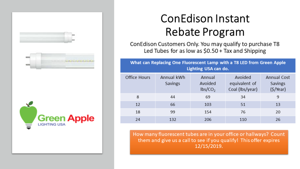ConEdison Instant Rebate Program